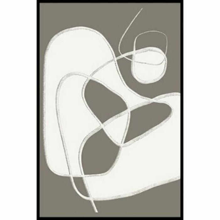 minimalistisk poster streck