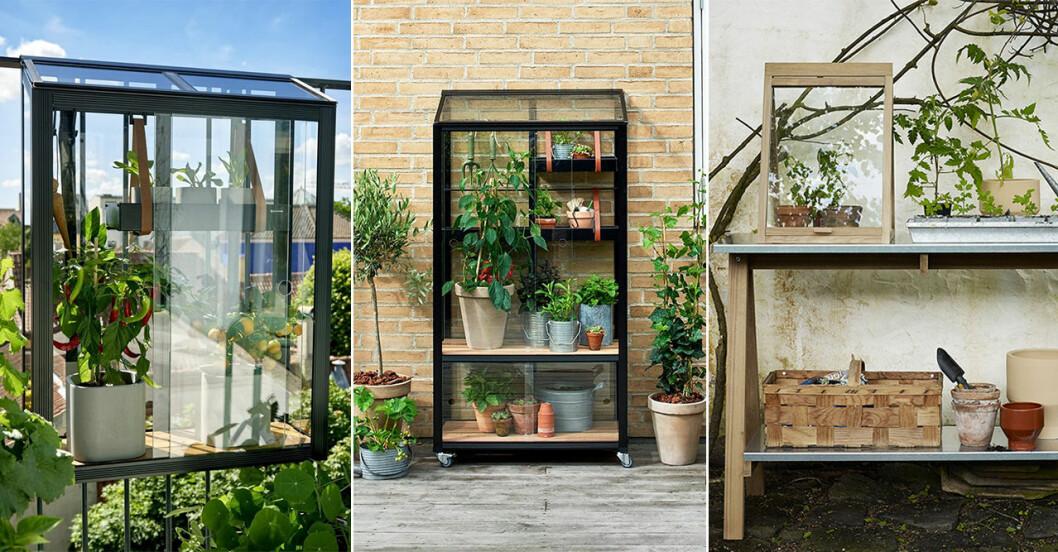 miniväxthus till balkong och uteplats