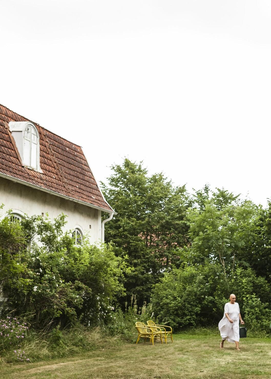 Huset var känt som Spökhuset i Komstad.