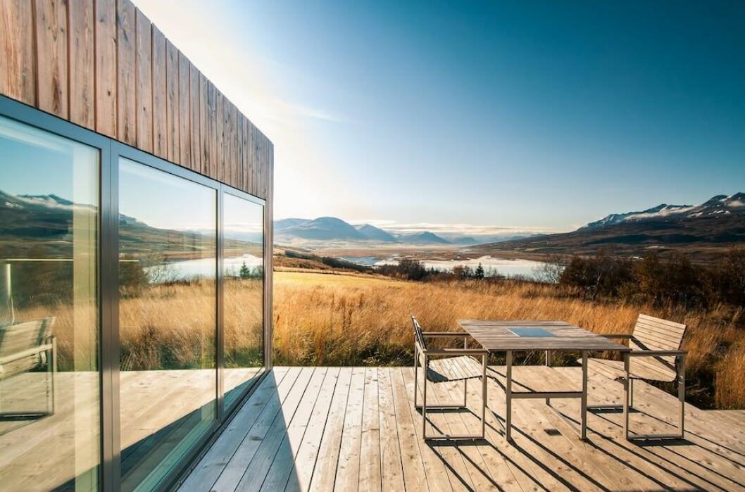 Modern lägenhet i Akureyri, Island