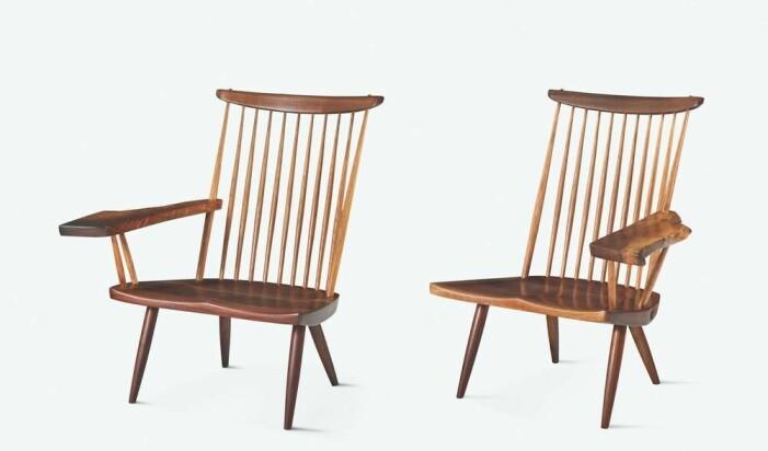 New Lounge Chairs av George Nakashima