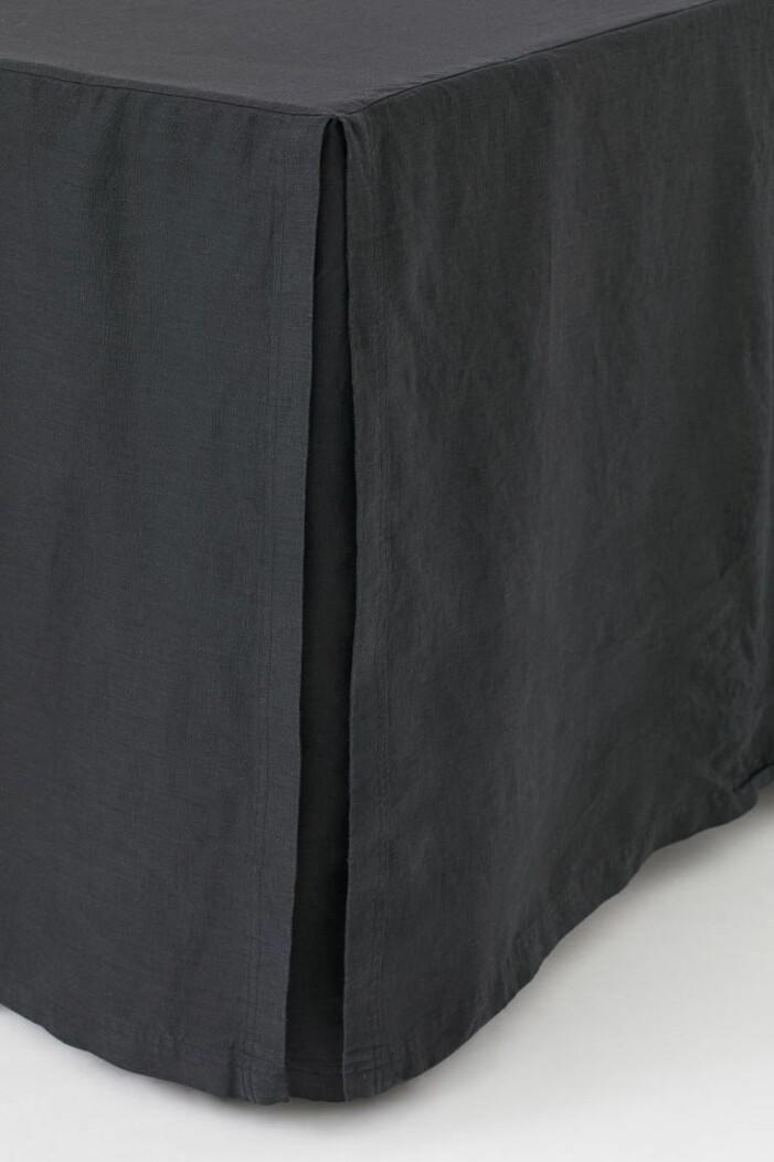 svart sängkappa