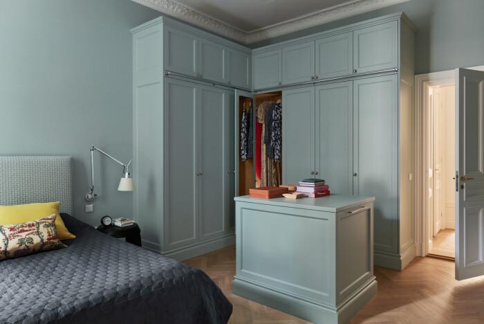 garderob med dressing room-känsla av new day interior