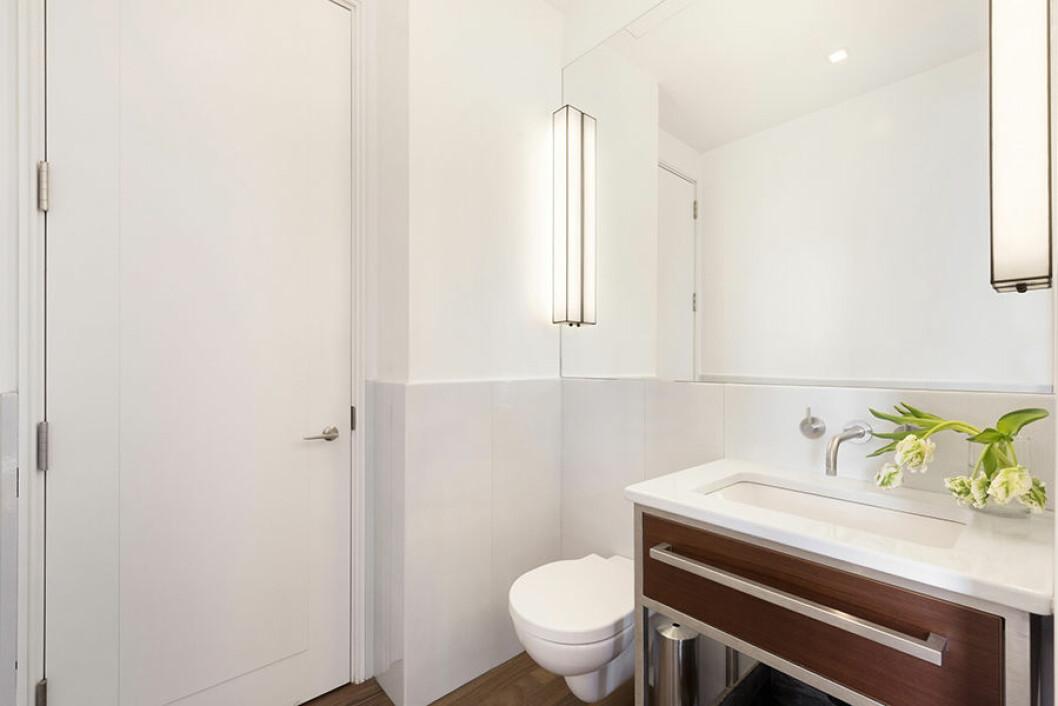 New York etage Engelbert badrum med toalett