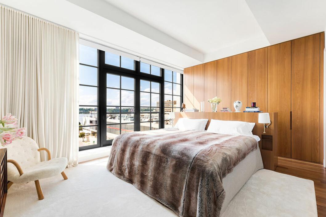 New York etage Engelbert sovrum 2 med säng överkast