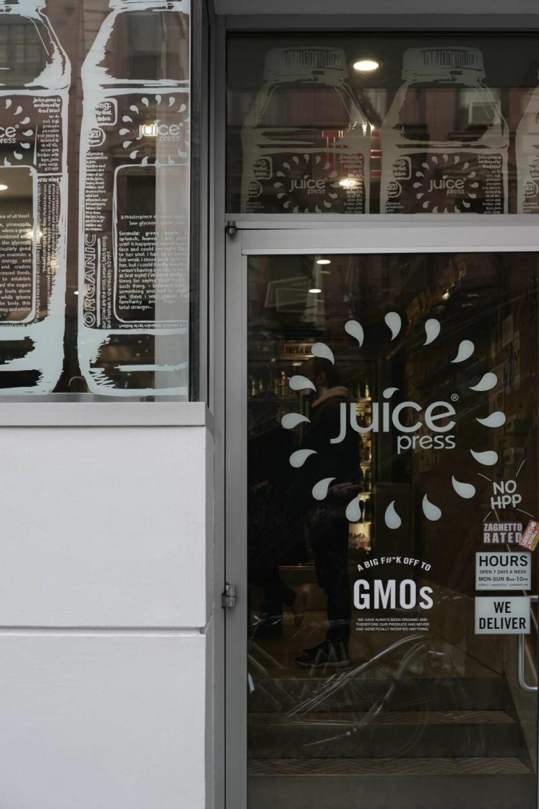 Juice press New York