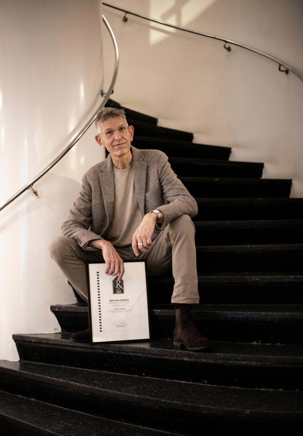 Nirvan Richter årets miljöprofil 2019