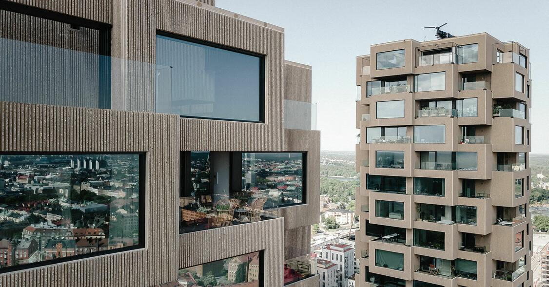 Penthouselägenhet i Norra tornen till salu för 55 miljoner kronor, se bilderna