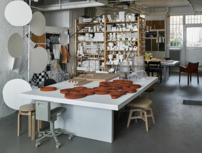Matti Klenells ateljé på Södermalm i Stockholm