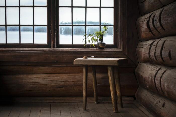 Ornässtugan, ett timmerhus bevarat sedan Gustav Vasas tid.