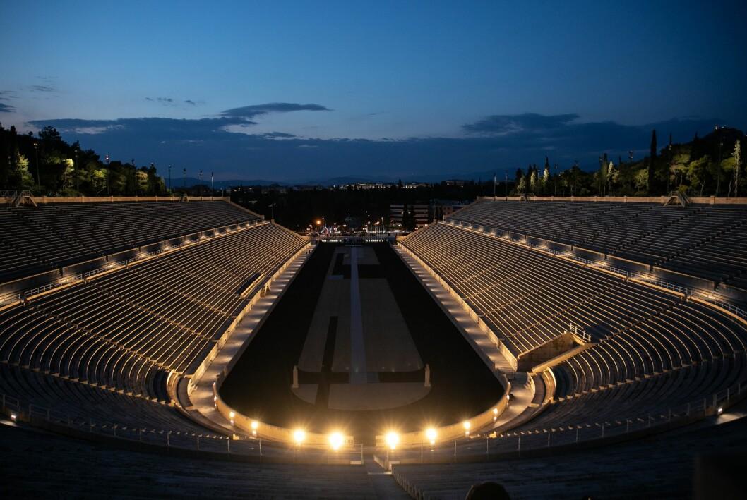 Panathenaic Stadium, OS Aten 1896