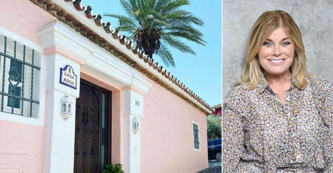 Pernilla bor på Lidingö men 2018 köpte hon även ett hus i Spanien, i närheten av Marbella.
