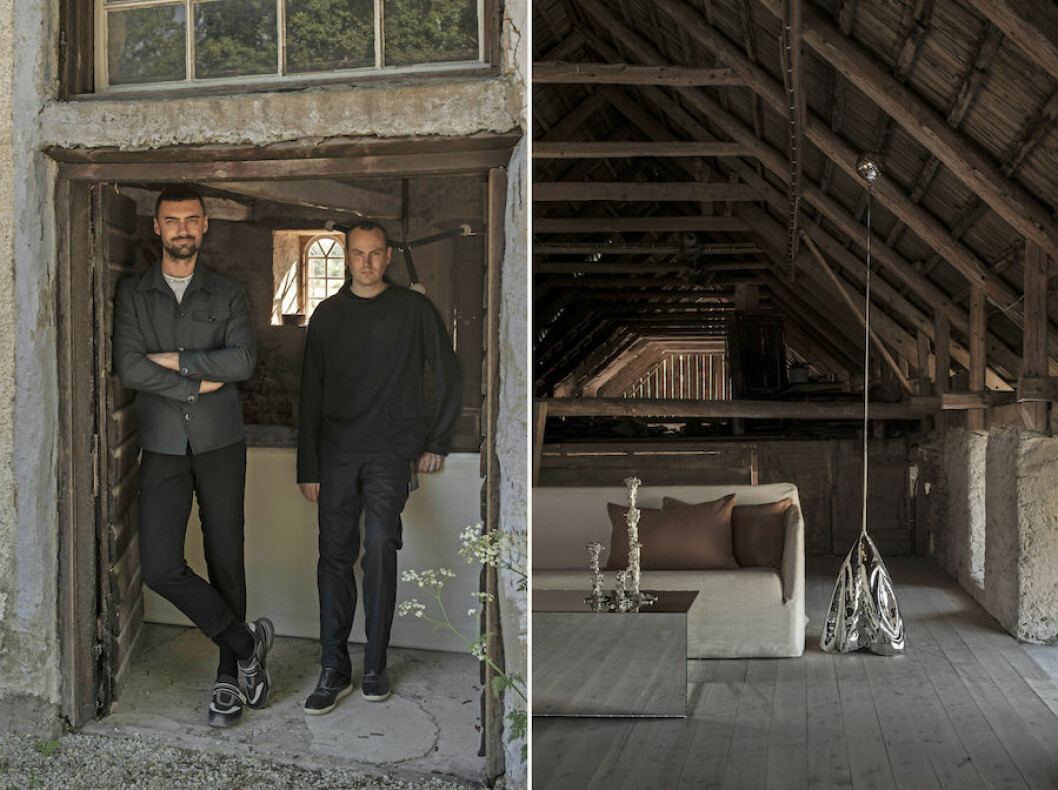 Robin Klang och Ejub Bicic driver Perspective Studios sommarshop på Gotland.