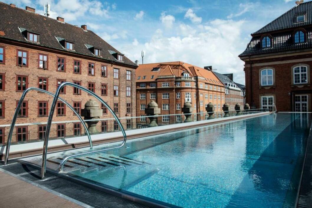 Köpenhamn hotell villa copenhagen pool