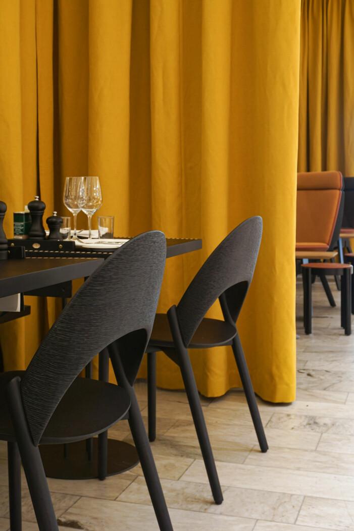 Inredning på restaurangen Positano av Monica Förster