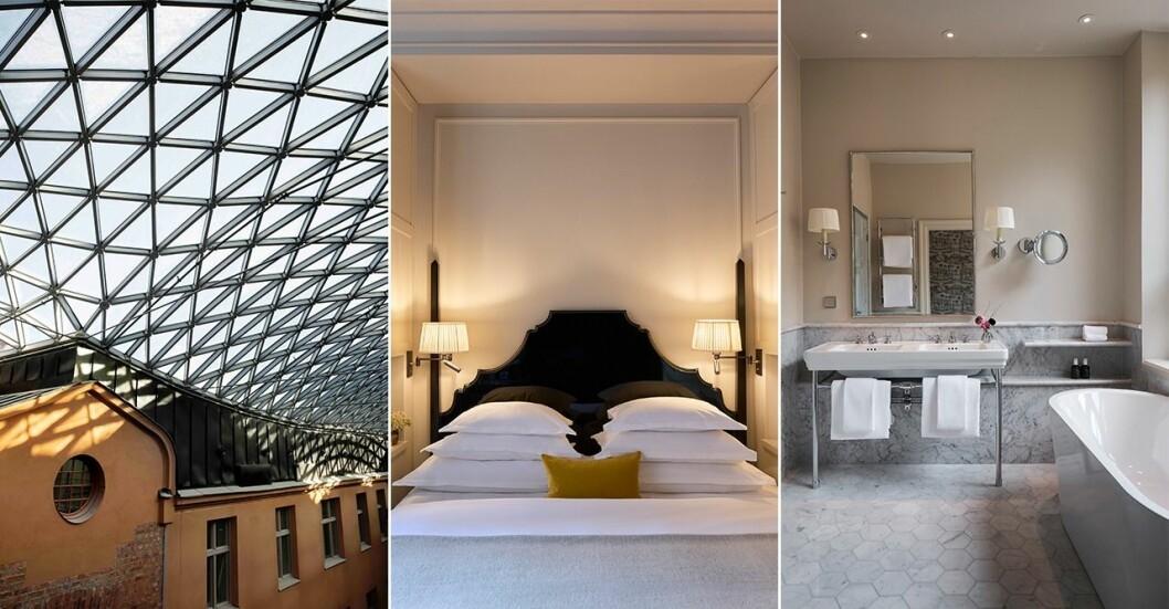 Bilder från Villa Dagmar – Östermalms nya lyxiga boutiquehotell