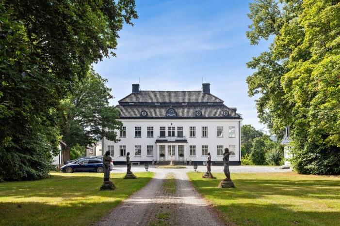 Slott till salu för 59 miljoner kronor