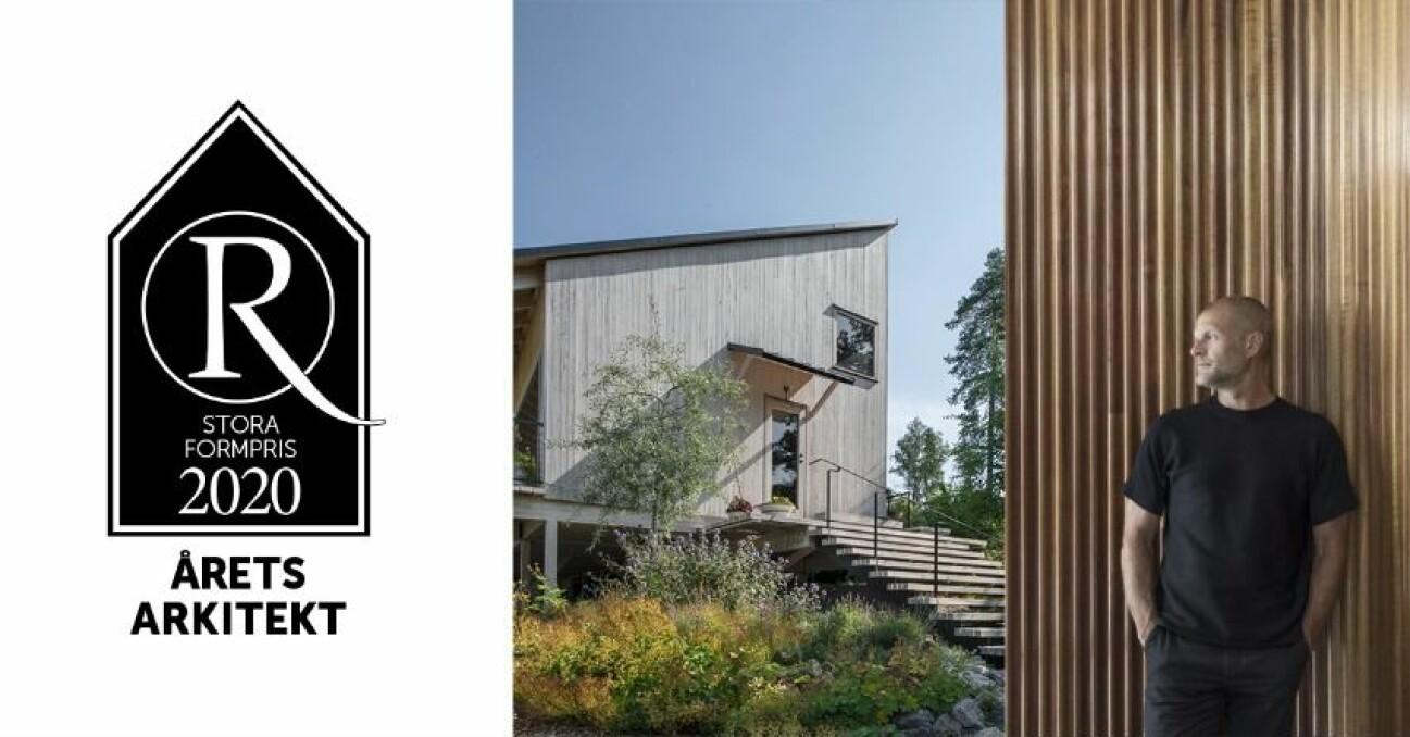 Residence Stora formpris Årets arkitekt 2020