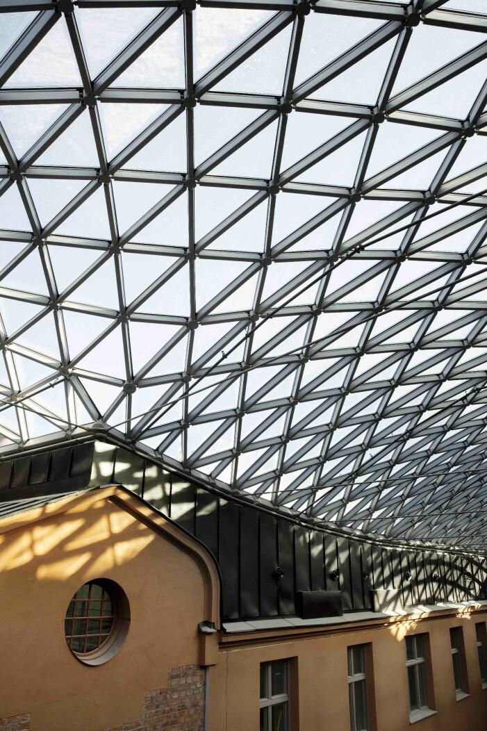 Det arkitektritade glastaket som hämtar inspiration från British Museum