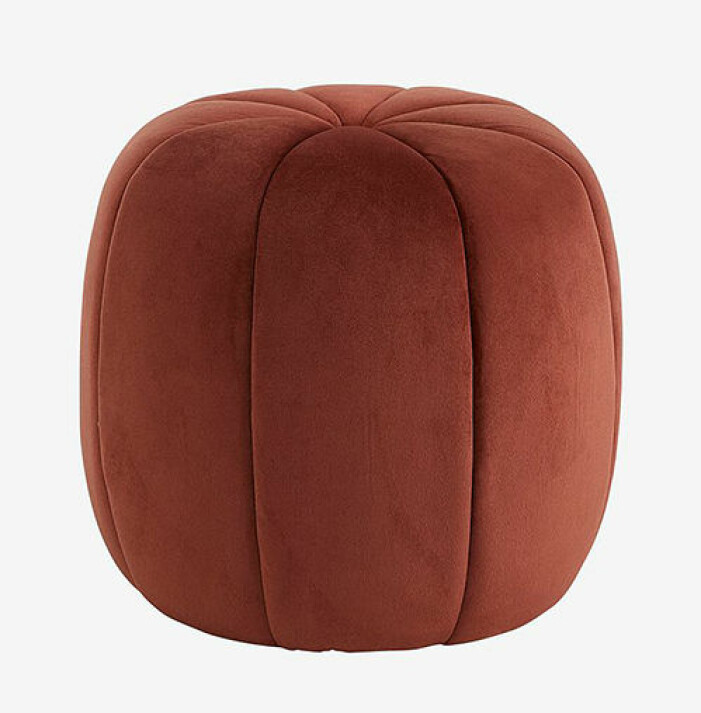 Roströd sittpall från Ellos Home