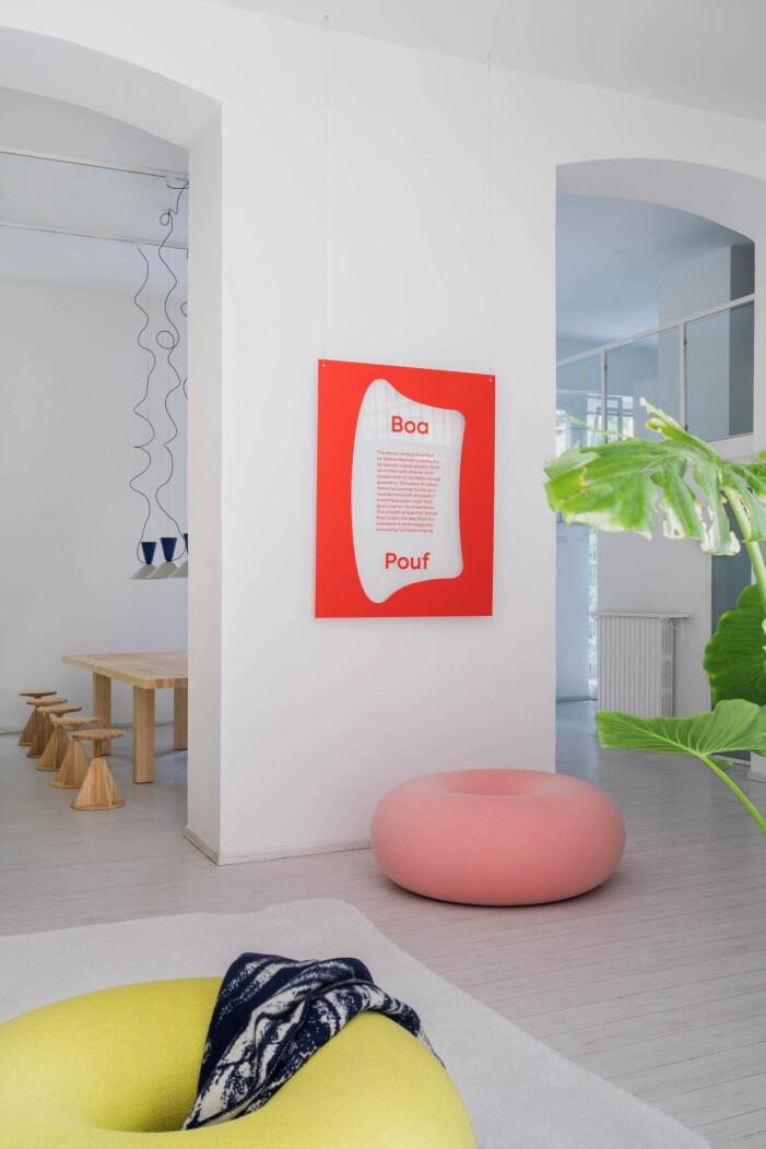 Salone del Mobile 2021, inredningstrender 2022 färgstarka möbler