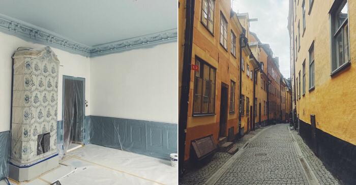 Sandra Beijers nya lägenhet 2021.