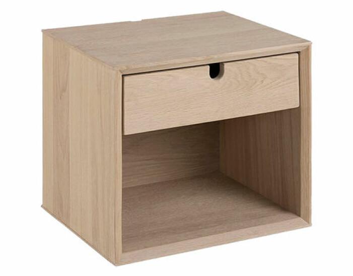 sängbord i trä