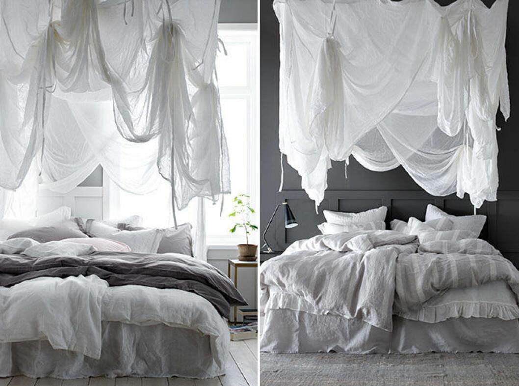 Sänghimmel för vuxensäng från ellos home
