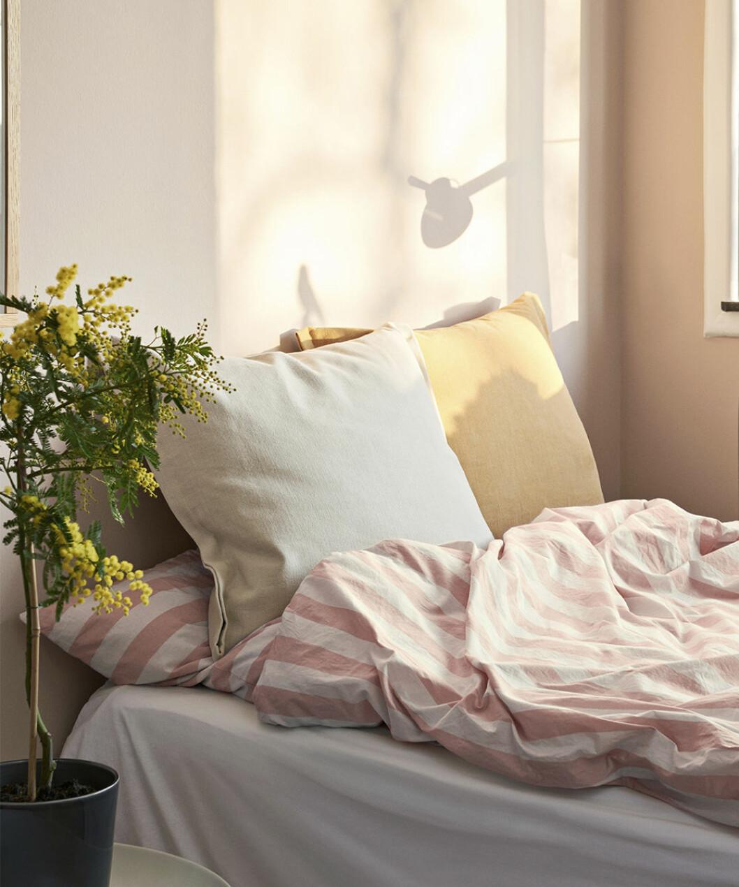 Somriga sängkläder i pastellfärger från Hay