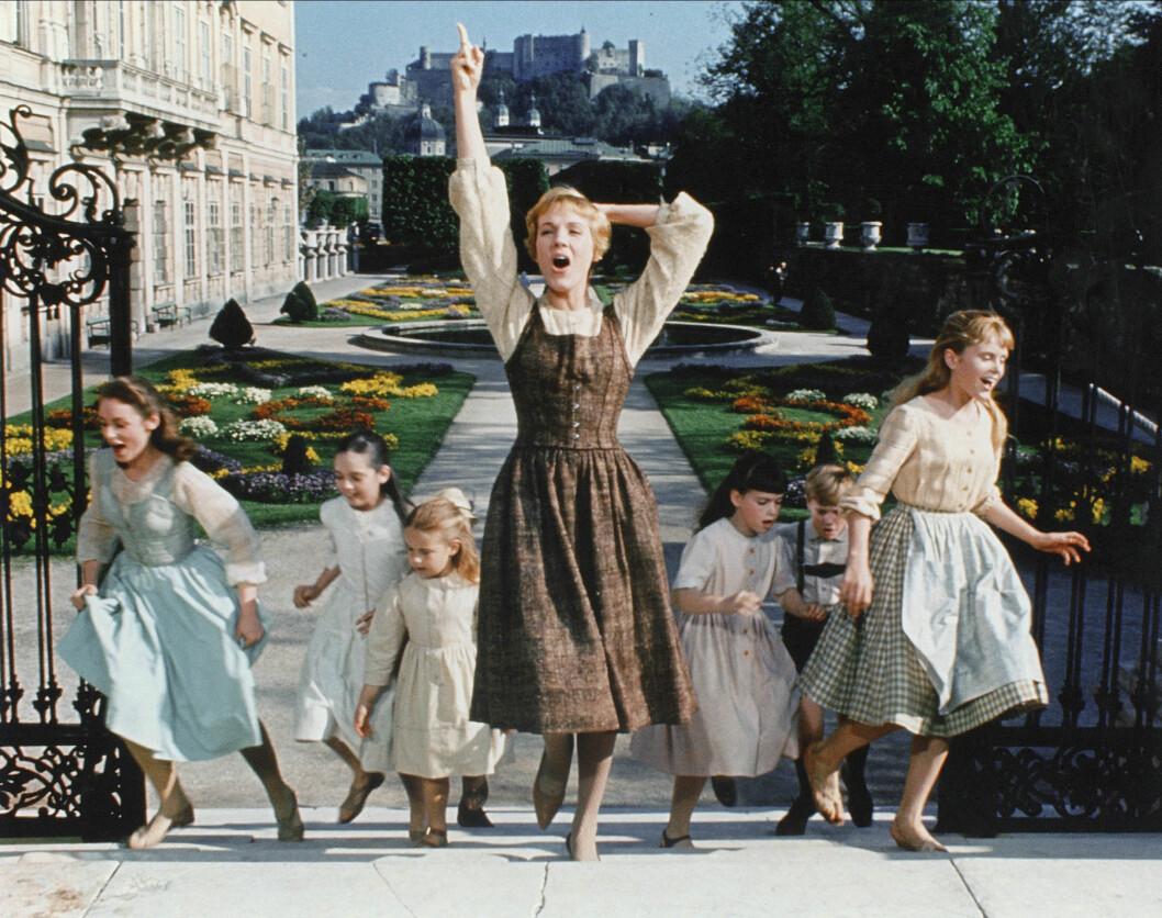 Julie Andrews i The Sound of Music.