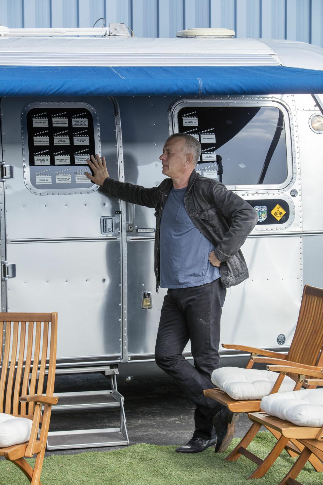 Tom Hanks säljer nu sin husvagn av modellen 1992 Airline.