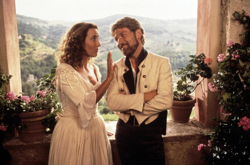 En ung Emma Thompson spelade huvudroll i filmversionen av Much Ado About Nothing från 1993.