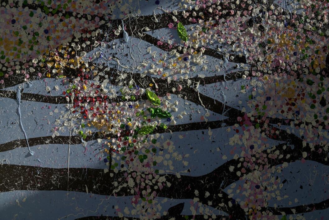 Damien Hirsts nya konstutställning på Fondation Cartier i Paris.