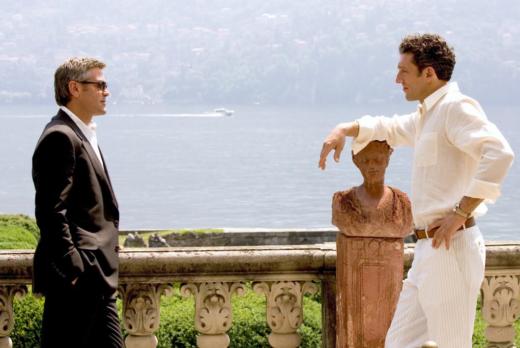 George Clooney i en scen ur filmen Oceans Twelve.