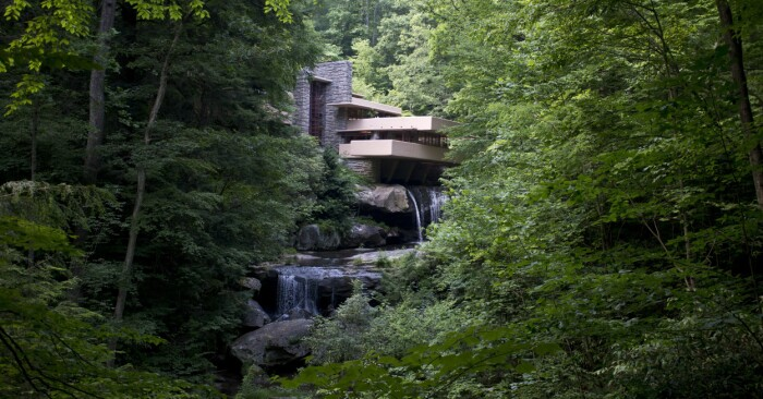 Villa Falling Water i Usa
