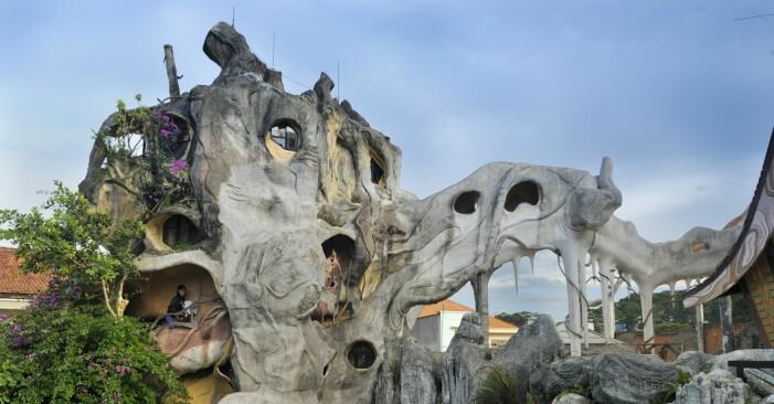 Crazy House i Da Lat, Vietnam