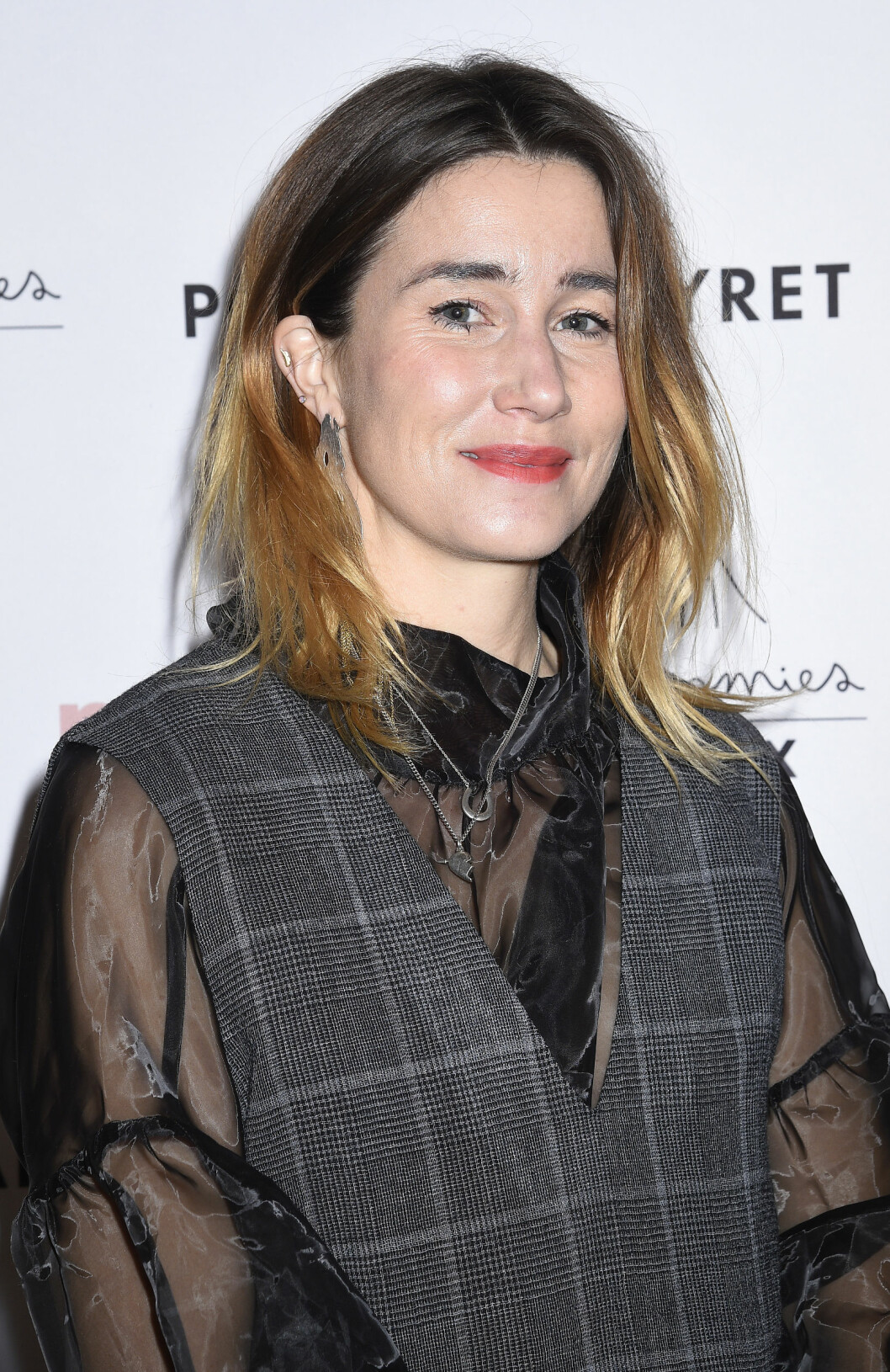 Cecilia Blankens år 2019 på eventet där hon vann Årets Mama.