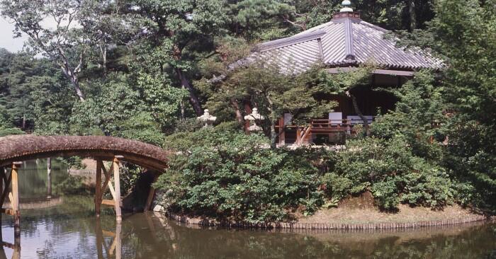 Villa Katsura Imperial Villa i Japan