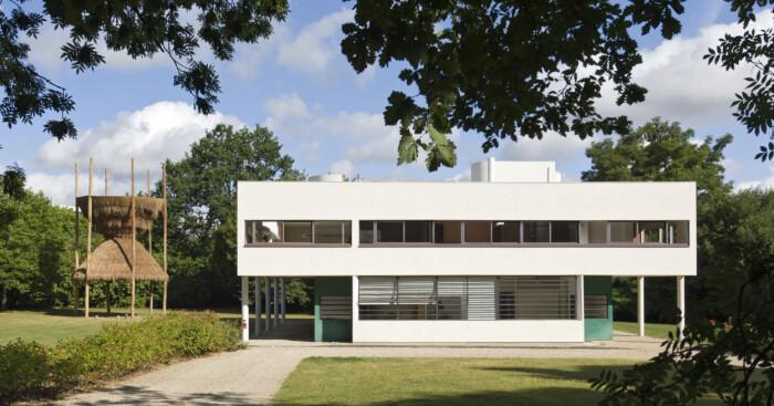 Villa Savoya Le Corbusier i Frankrike