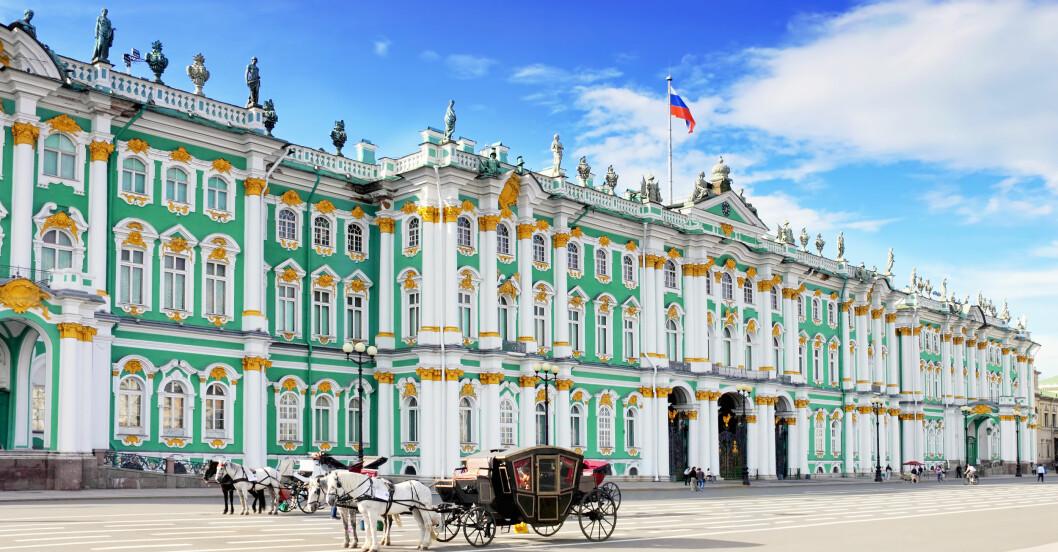 Vinterpalatset i Ryssland