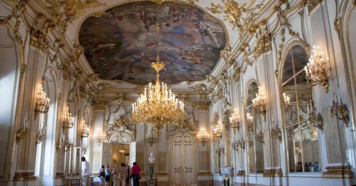Slottet Schönbrunn i Österrike