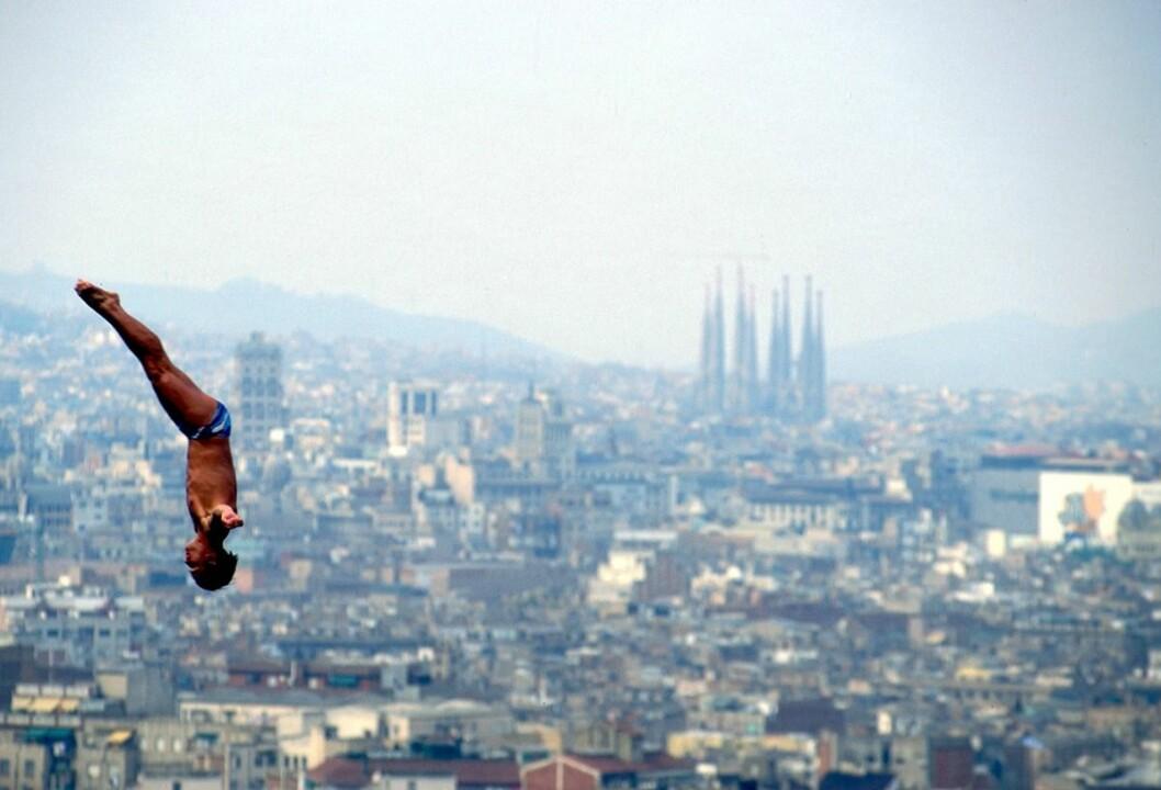 Simhopparenan, OS Barcelona 1992