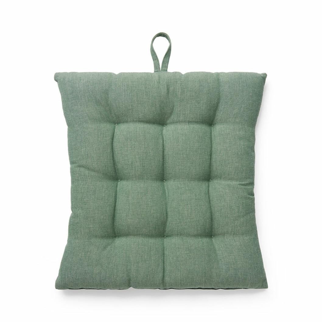 grön sittdyna från åhléns