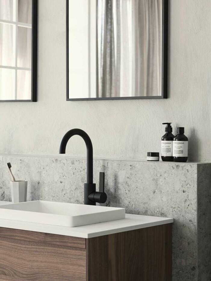 Så skapar du ett tidlöst och jordnära badrum, marmor