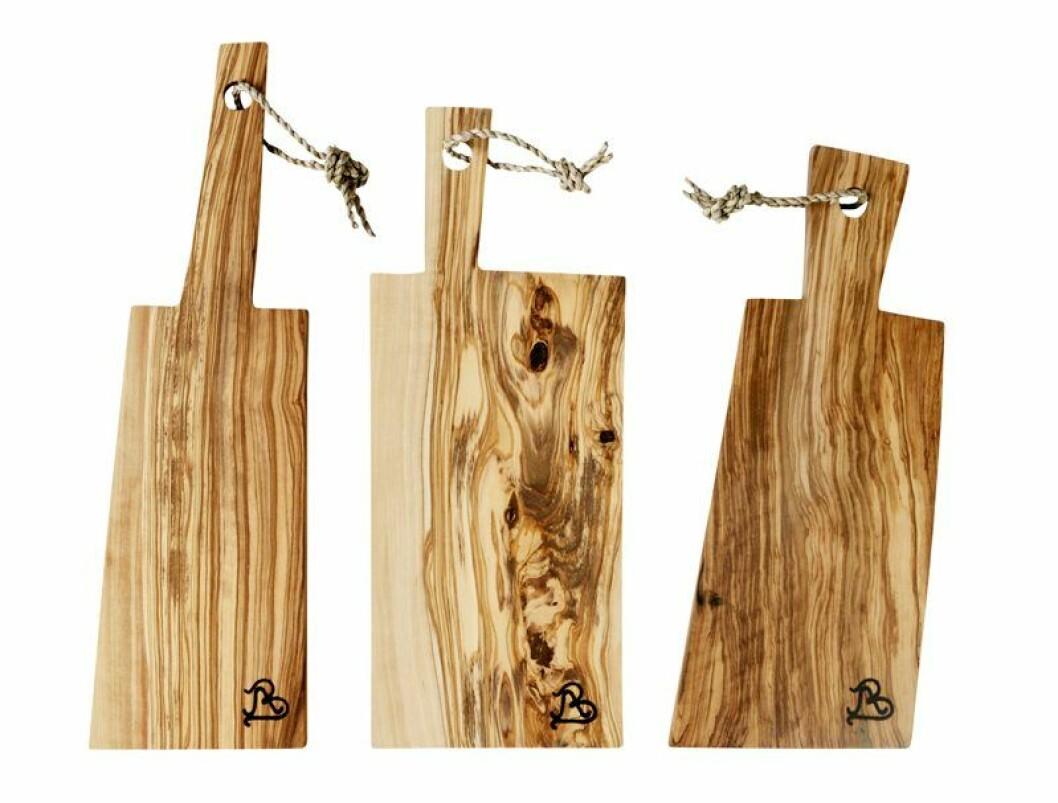 Skärbräda av olivträd, Andrea Brugi