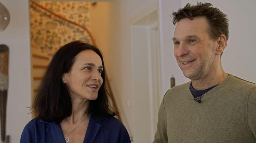 Kerstin och Anders Lundin är nervösa inför snickaren Anders Öfvergårds ankomst.