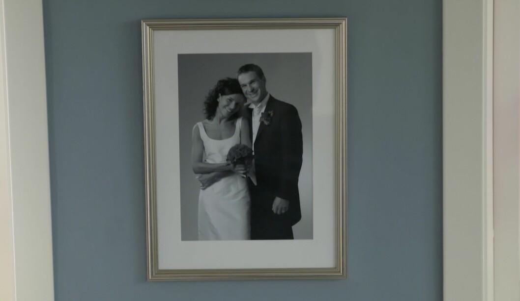 Bröllopsbilder hemma hos Kerstin och Anders Lundin.