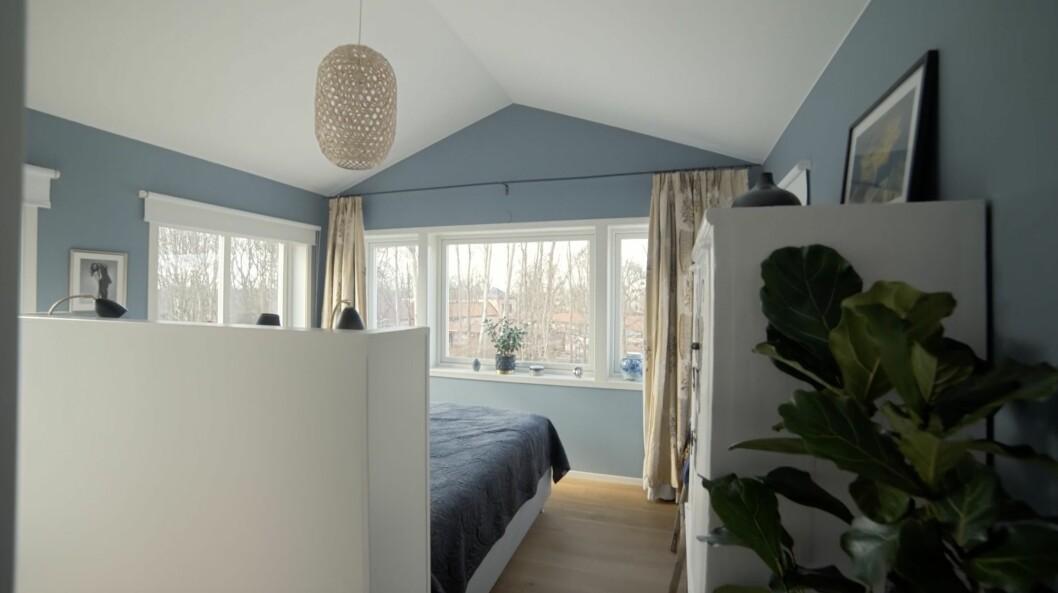 Sovrummet hemma hos Kerstin och Anders Lundin.
