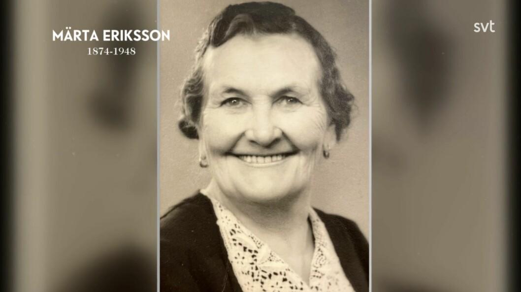 Märta Eriksson kallades för gammelmora i bygden eftersom att hon hade barnkoloni på gården.