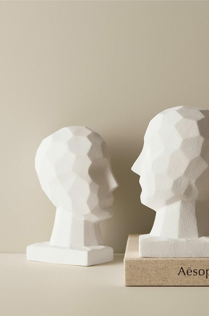 skulptur-bokstöd från ellos home